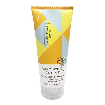 DD Шампунь бессульфатный для ежедневной защиты и восстановления волос ALAN HADASH