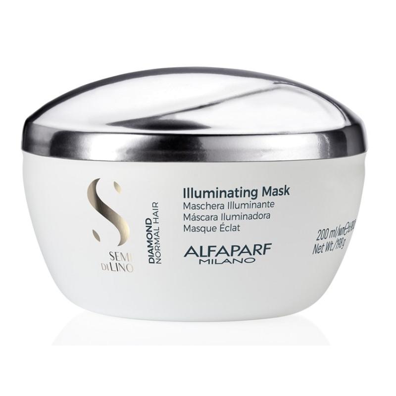 Маска для нормальных волос, придающая блеск SDL D Illuminating Mask ALFAPARF