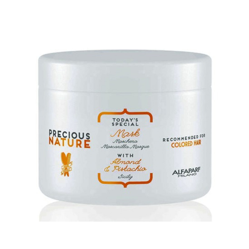 Маска для окрашенных волос Precious Nature Pure Color Protection Mask ALFAPARF