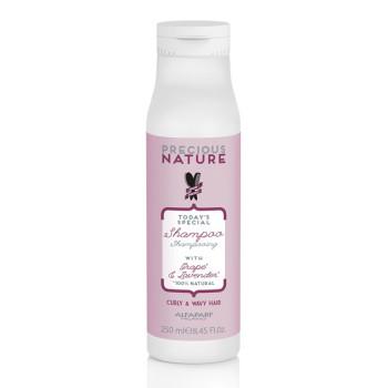 Шампунь для кудрявых и вьющихся волос Precious Nature Curly Wavy Hair Shampoo ALFAPARF