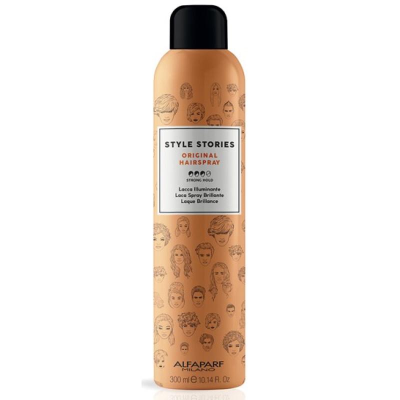 Лак для волос сильной фиксации Style Stories Orig. Hairspray ALFAPARF