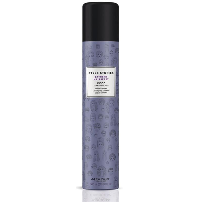Лак для волос экстра сильной фиксации Style Stories Extr. Hairspray ALFAPARF