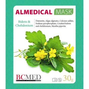 Альгинатная маска для контура глаз «Череда и чистотел» ALMEDICAL