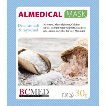Альгинатная маска «Соль мертвого моря и миоксинол» ALMEDICAL