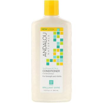 Кондиционер для блеска волос Sunflower & Citrus Brilliant Shine Conditioner ANDALOU NATURALS