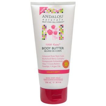 "Бархатное масло для тела ""1000 роз""1000 Roses™ Velvet Soft Body Butter ANDALOU NATURALS"