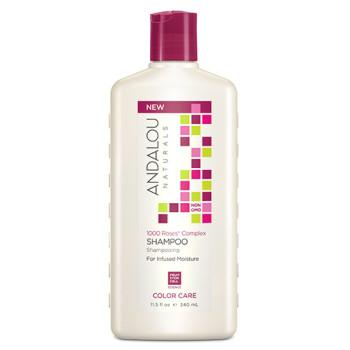 Шампунь для сухих, поврежденных и  окрашенных волос 1000 Roses® Complex Color Care Shampoo ANDALOU NATURALS