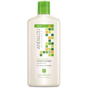 Кондиционер для жёстких и вьющихся волос Exotic Marula Oil Silky Smooth Conditioner ANDALOU NATURALS