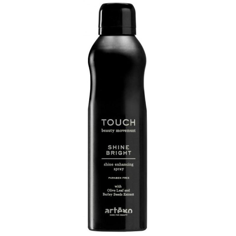 Сухой спрей для блеска Touch Shine Bright ARTEGO