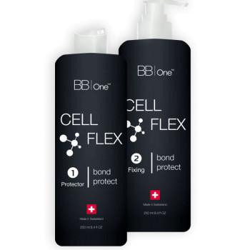 """Набор системы защиты структуры волоса """"CELL FLEX""""  (шаг 1 + шаг 2) BB ONE"""