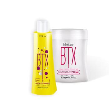 Набор ботокс для волос максимальная реконструкция BTX CONCENTRATE CREAM BB ONE