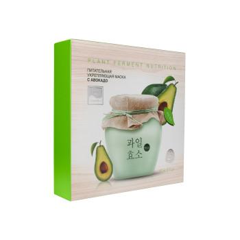 Питательная укрепляющая тканевая маска с авокадо BEAUTY STYLE