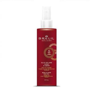 Защитное масло для волос и тела,SPF 6 BRELIL PROFESSIONAL