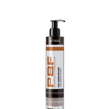 Маска освежающая теплые оттенки каштановых волос PBF CAREFORCOLOR PRO WARM BROWN HAIR MASK BY FAMA PROFESSIONAL
