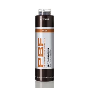 Маска усиливающая теплые оттенки каштановых волос PBF CAREFORCOLOR PRO WARM BROWN PLUS MASK BY FAMA PROFESSIONAL