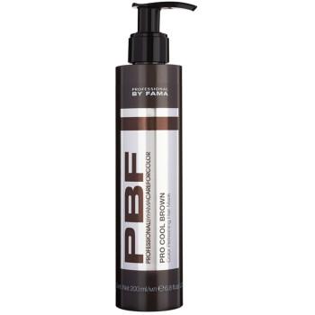 Маска освежающая холодные оттенки каштановых волос PBFCAREFORCOLOR PRO COOL BROWN HAIR MASK BALM BY FAMA PROFESSIONAL