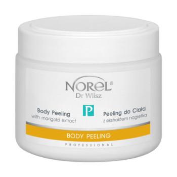 Кремовый пилинг для тела с экстрактом календулы для всех типов кожи Body peeling with marigold extract NOREL DR.WILSZ