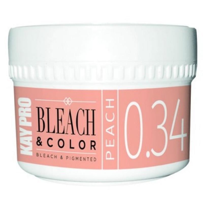 0.34 Пигментированная обесцвечивающая паста Персик - Bleach Color Bleach Pigmented Peach KAYPRO
