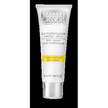 Очищающий матирующий гель мята-лимон BERNARD CASSIERE