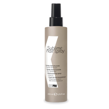 НЕСМЫВАЕМЫЙ СПРЕЙ ДЛЯ ВОССТАНОВЛЕНИЯ СТРУКТУРЫ ВОЛОС SUBLIME HAIR SPRAY KAYPRO