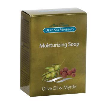 Увлажняющее мыло с оливковым и миртовым маслом DSM MON PLATIN