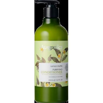 Очищающий кондиционер для жирных волос Лимонный Мирт AUSGANICA