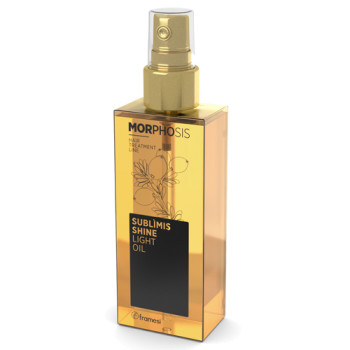 Масло-спрей аргановое для волос MORPHOSIS SUBLIMIS SHINE LIGHT OIL FRAMESI