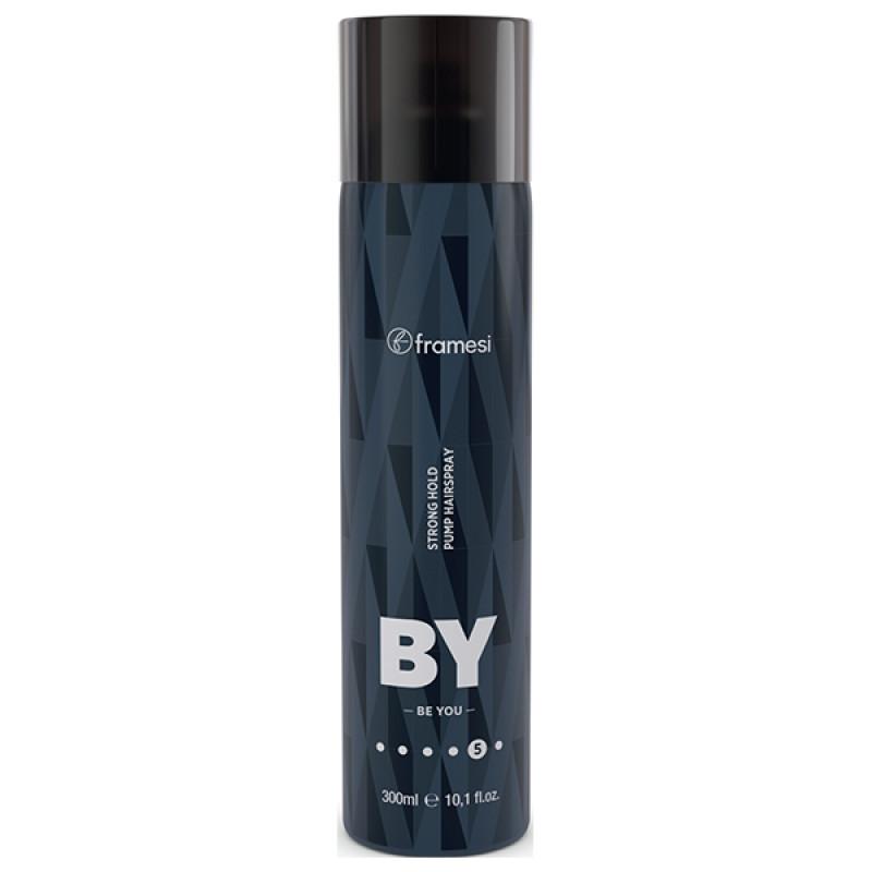Неаэрозольный лак для волос BY STRONG HOLD PUMP HAIRSPRAY FRAMESI