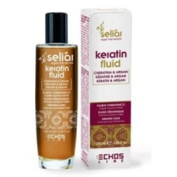 Восстанавливающий флюид с маслом Аргании и кератином Keratin Fluid ECHOSLINE
