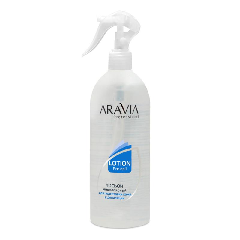 ARAVIA Professional Мицеллярный лосьон для подготовки кожи к депиляции