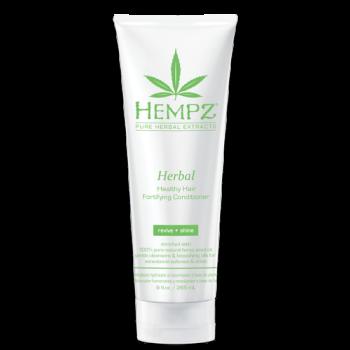 Кондиционер растительный укрепляющий Здоровые волосы Herbal Healthy Hair Fortifying Conditioner HEMPZ