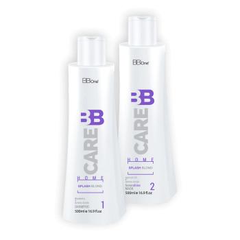 Набор для ухода за осветленными волосами после хим. воздействий BB Care Splash BLOND BB ONE