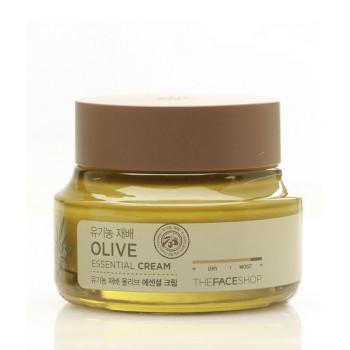 Крем Olive Essential Cream THE FACE SHOP