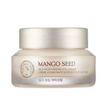 Увлажняющий крем для век с семенами манго Mango Seed Silk Moisturizing Eye Cream THE FACE SHOP