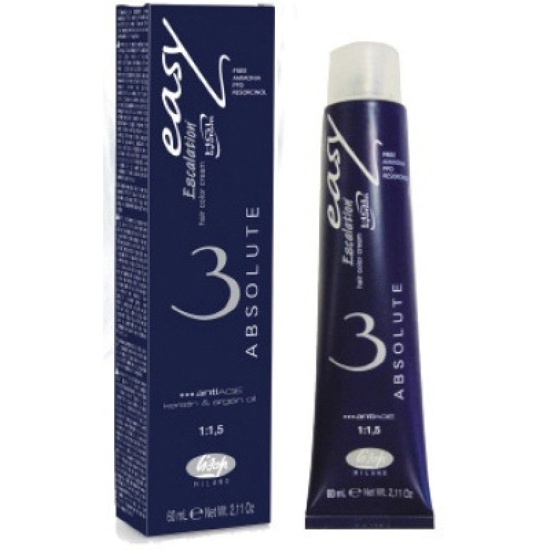 Безаммиачный перманентный крем-краситель для волос ESCALATION EASY ABSOLUTE 3 LISAP MILANO