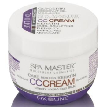 Уплотняющий крем для волос с кератином средней фиксации HAIR CC CREAM - KERATIN CARE CREAM SPA MASTER PROFESSIONAL