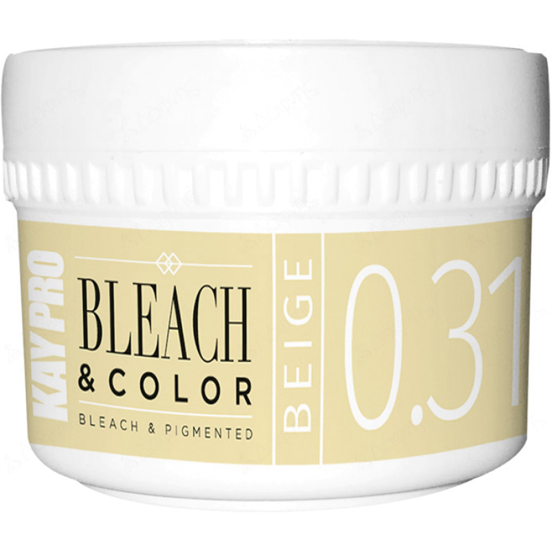 0.31 Пигментированная обесцвечивающая паста Беж - Bleach Color Bleach Pigmented Beige KAYPRO