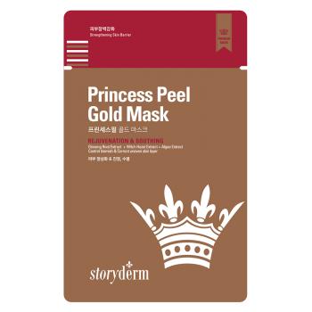 Пилинг - крем с золотыми микроиглами Premium Princess Peel STORYDERM