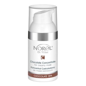 Шоколадный концентрат для кремовых масок и массажных кремов, повышающий их питательный эффект / Chocolate SPA - Chocolate concentrate for creamy mask NOREL DR.WILSZ