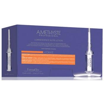 Лосьон люминесцирующий для сухих и поврежденных волос Amethyste hydrate luminescence FARMAVITA