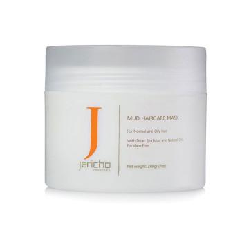 Маска грязевая для волос (для жирных волос и раздраженной кожи головы) JERICHO