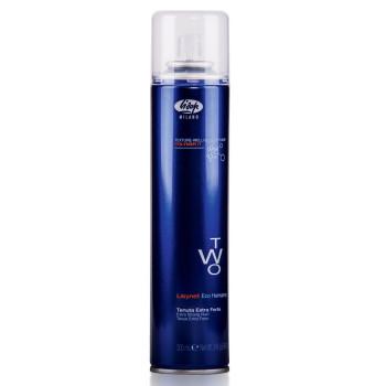 Лак для укладки волос без газа экстра-сильной фиксации Lisynet Two Eco Extra Strong Hold LISAP MILANO