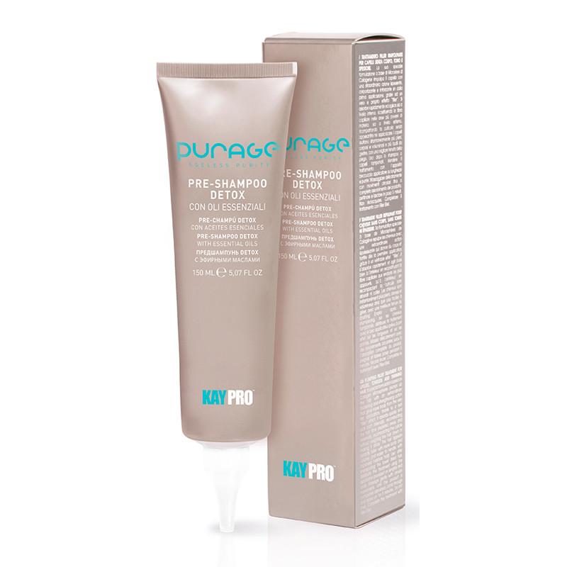 Крем-детокс для кожи головы на основе эфирных масел PRE-SHAMPOO DETOX ESSENTIAL OILS KAYPRO