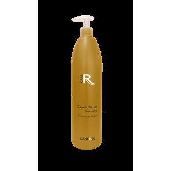 Питательный шампунь с аргановым маслом и протеинами пшеницы для осветленных и мелированных волос GENERIK