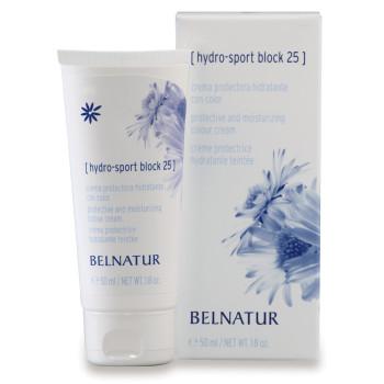 Увлажняющий тонирующий крем Hydro-Sport Block BELNATUR