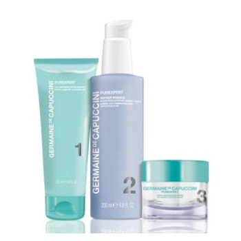 Набор для нормальной и комбинированной кожи PurExpert Set 1-2-3 Norm-Comb Skin GERMAINE DE CAPUCCINI