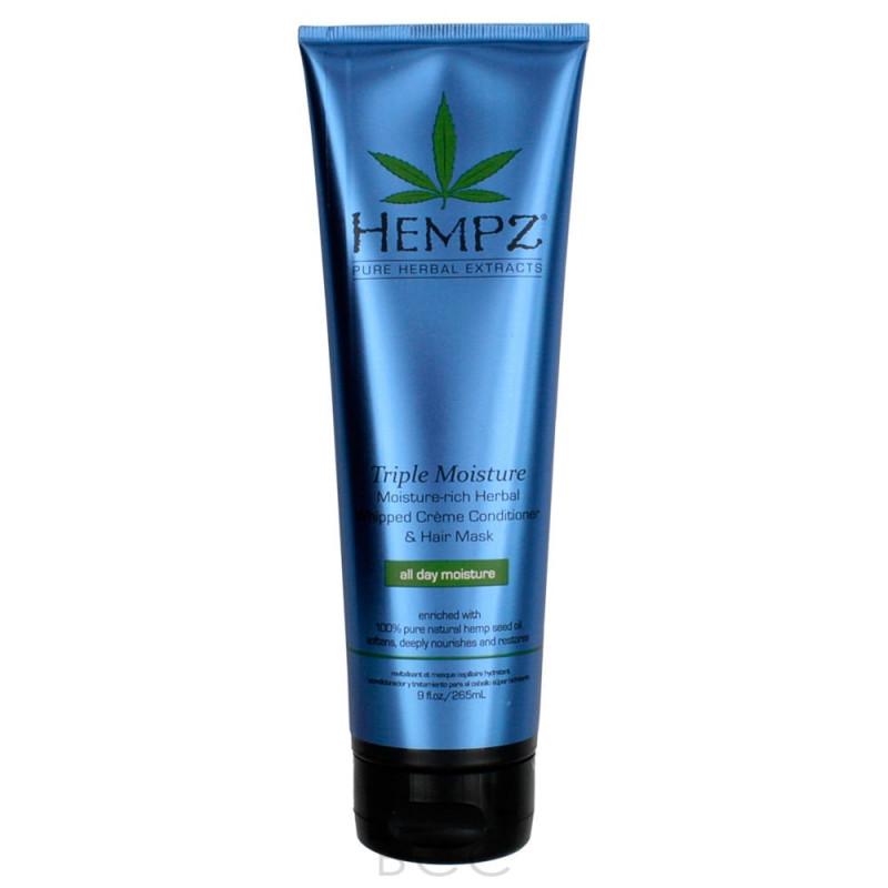 Кондиционер Тройное увлажнение Triple Moisture Replenishing Conditioner HEMPZ