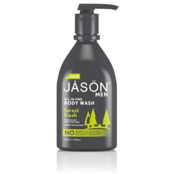 Гель для душа Лесная свежесть Men's Forest Fresh All-In-One Body Wash JASON
