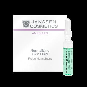 Нормализующий концентрат для ухода за жирной кожей JANSSEN COSMETICS