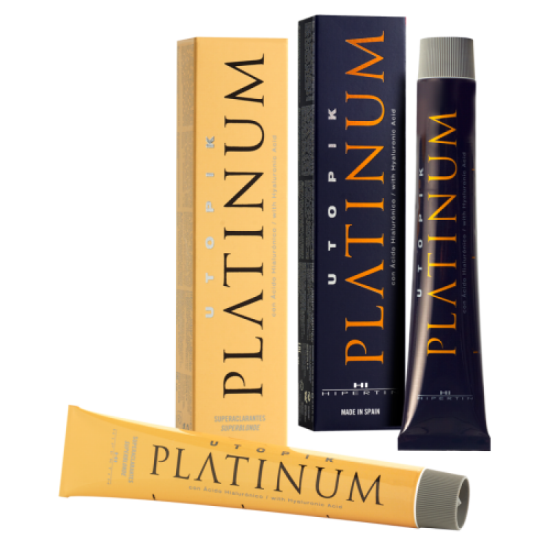 Профессиональная стойкая краска для волос UTOPIK Platinum HIPERTIN